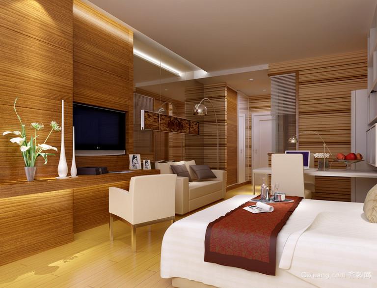都市家庭现代欧式单身公寓装修效果图欣赏