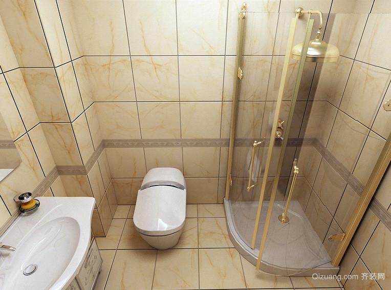 跃层时尚风格卫生间装修效果图