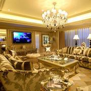 欧式奢华客厅沙发装饰