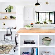 室内厨房吧台收纳柜