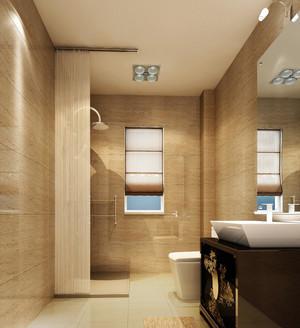 别墅自然风格卫生间装修效果图