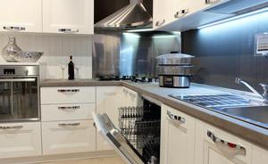复式楼简约风格厨房装修效果图