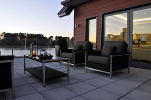 现代主义风格海景房阳台设计效果图