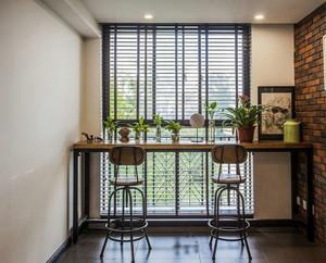 现代混搭风格140平米家居室内装修效果图