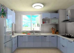 138平米清爽系列厨房装修效果图