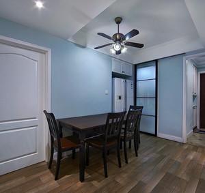 现代美式风格98平米房屋室内装修效果图