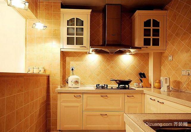 单身公寓现代风格厨房装修效果图