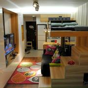 小户型卧室双层床欣赏