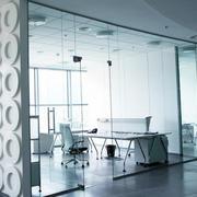 大型写字楼都市白色系办公室装修效果图
