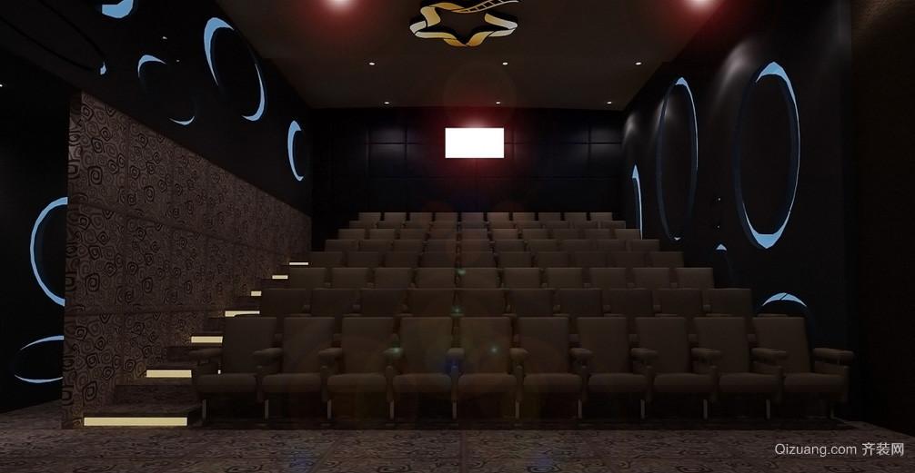 精致3d影院70平米阶梯房间装修效果图