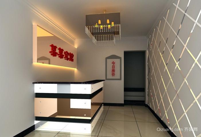 简约小宾馆20平米大厅装修效果图