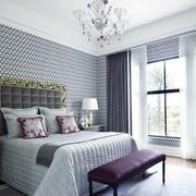 100平米房屋欧式简约风格卧室装修效果图