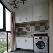 小区阳台洗衣间装饰