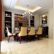 精致的餐厅餐桌椅设计