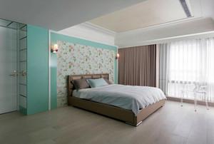 紫色梦幻简约80平米小公寓装修效果图