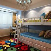 欧式简约风格儿童房效果图