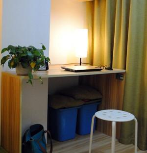 现代都市40平米小户型居室装修实例