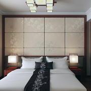 卧室背景墙造型图设计