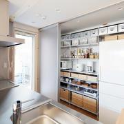 小户型厨房收纳柜设计