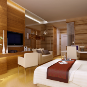 2016精美的现代欧式单身公寓装修效果图鉴赏