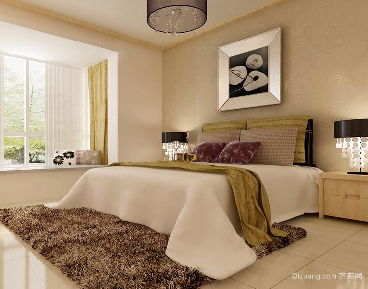2016精致雅观的欧式小户型卧室装修实例欣赏
