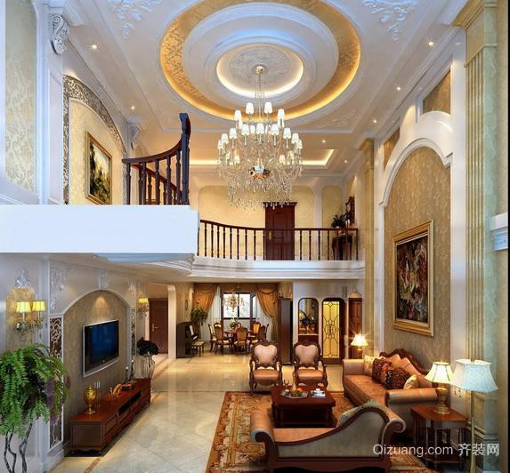 2016现代欧式别墅装修效果图实例欣赏