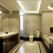 2016都市现代小户型欧式洗手间装修效果图