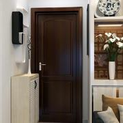 120平米复式楼现代简约风格鞋柜装修效果图