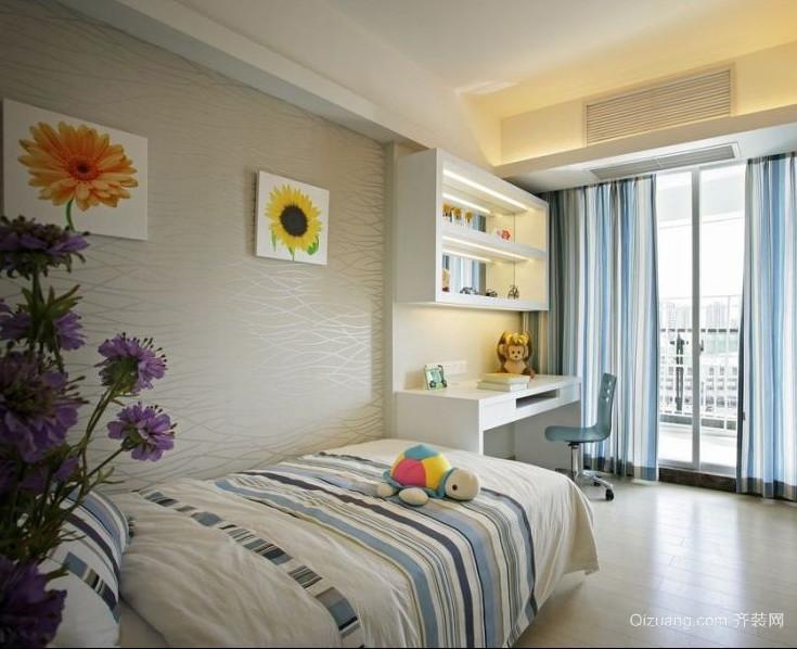 90平米现代大户型欧式儿童房装修效果图欣赏