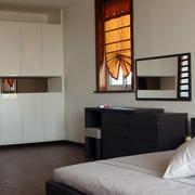 现代简约风格卧室样板间装饰