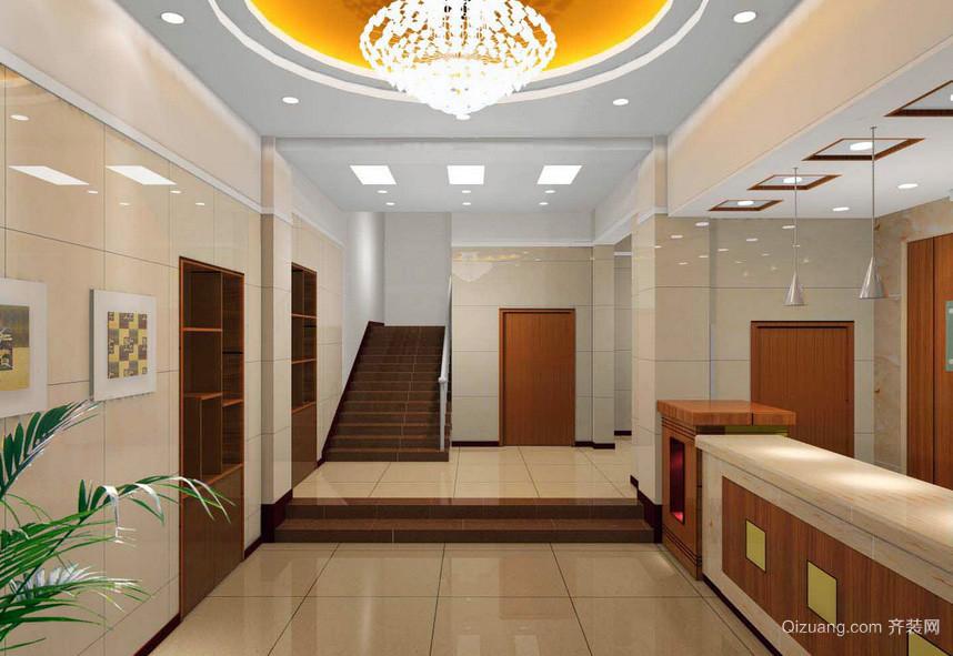 现代朴素小户型宾馆装修效果图