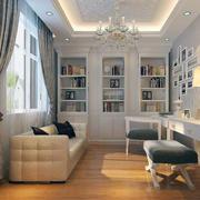 精美的书房飘窗设计