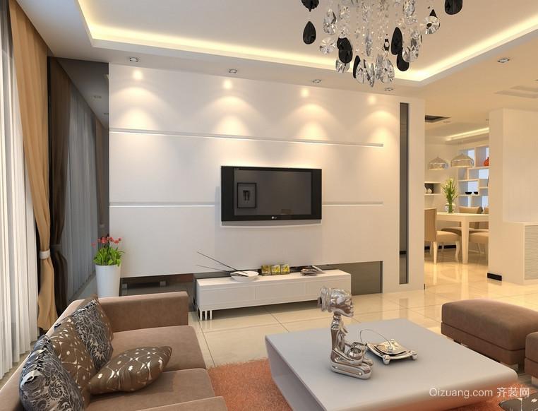 现代40平米小户型欧式客厅装修效果图鉴赏