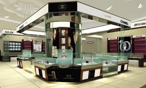2016商场化妆品展示柜台装修效果图