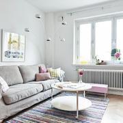 2016复式两层3居别墅装潢设计效果图