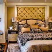精美的卧室背景墙图