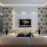 现代电视背景墙整体设计