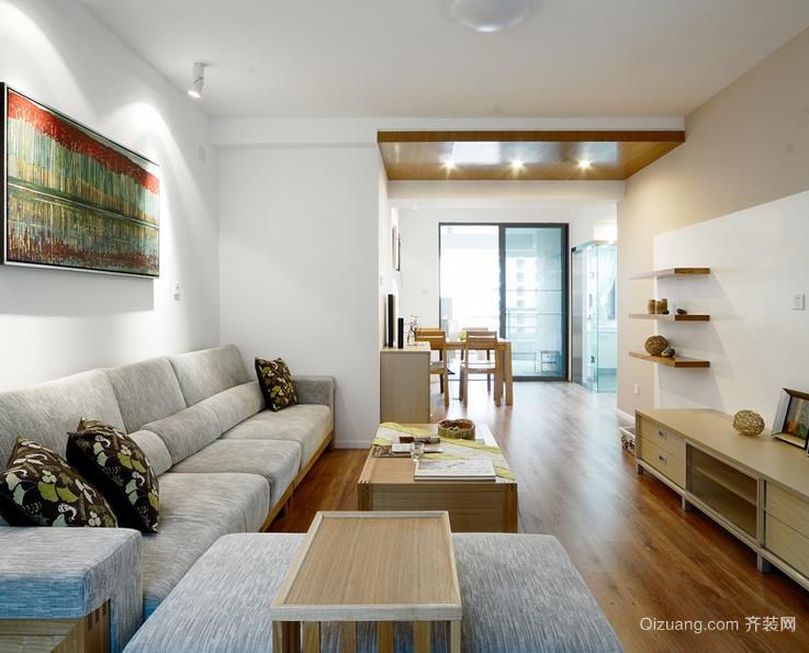 90平米大户型欧式客厅电视背景墙装修效果图鉴赏