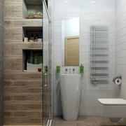 100平米房屋现代简约风格卫生间装修效果图