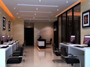 现代都市大户型精致的办公室装修效果图实例