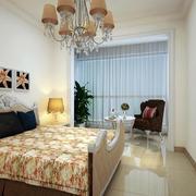 公寓简约卧室图片
