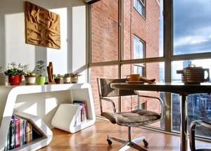 120平米loft风格公寓阳台装修效果图
