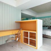 公寓卧室小书房书桌