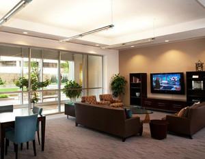 100平米房屋后现代风格客厅装修效果图