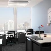 20平米后现代风格总经理办公室装修效果图