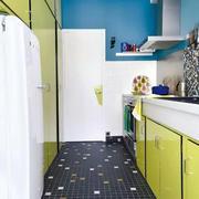 公寓厨房地板贴图