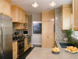 2016精美北欧风格大户型厨房装修效果图欣赏