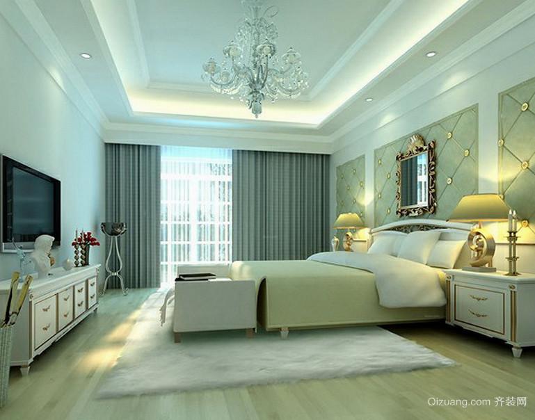 2016大户型欧式精致的卧室吊顶装修效果图