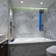 新古典灰白色卫生间图