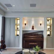 新古典客厅置物柜欣赏